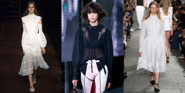 """The Unexpected Reign of """"Period Piece"""" Style on the Spring Runways"""