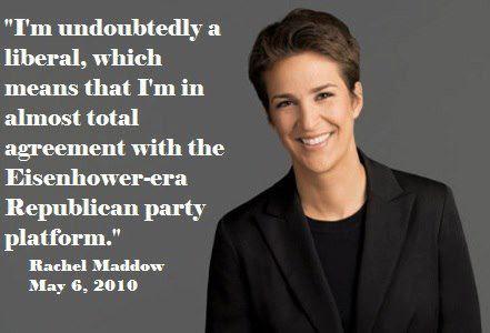 Rachel Maddow on Eisenhower-era GOP platforms
