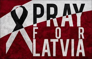 #PrayForLatvia