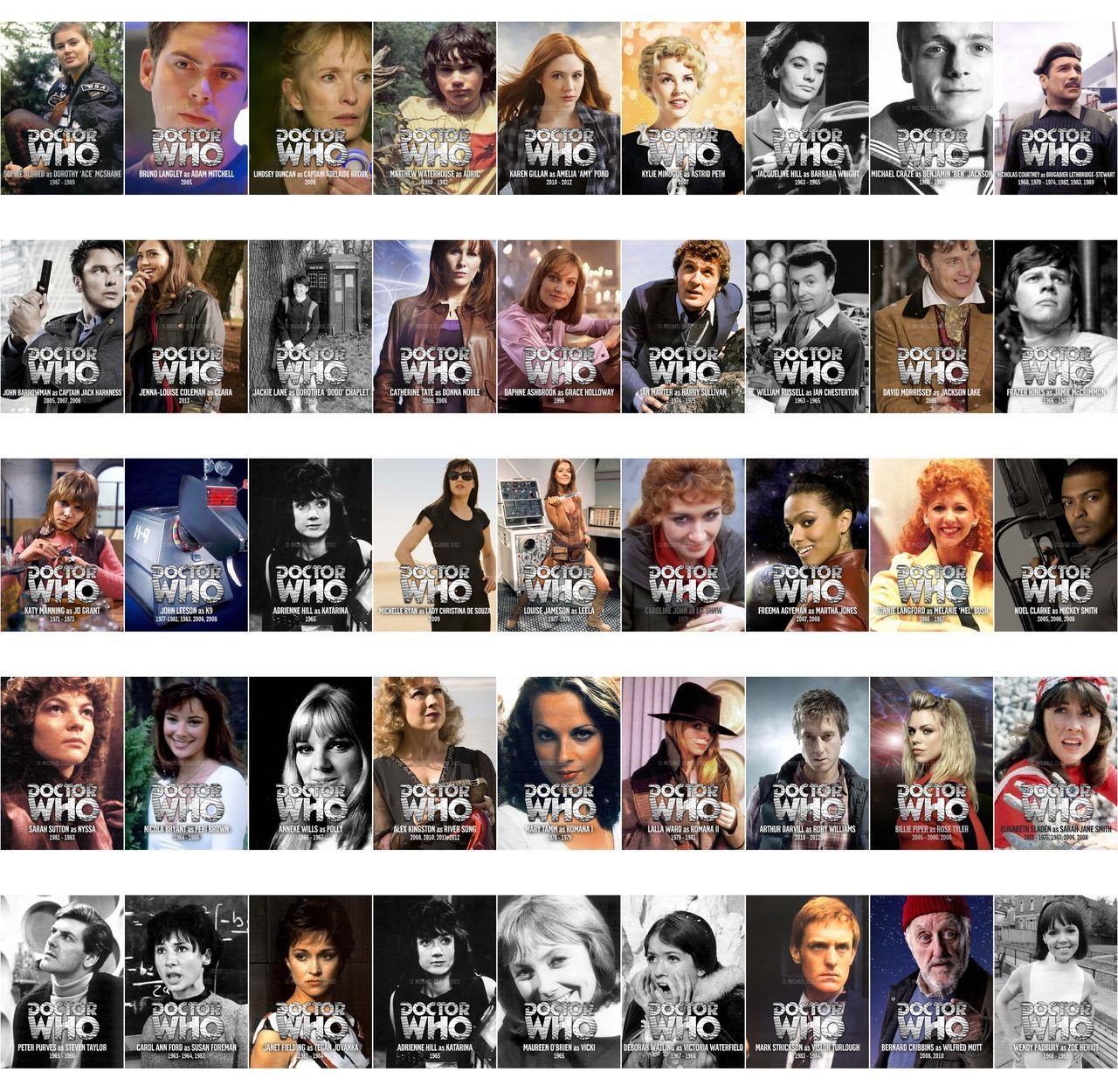 Image result for Dr Who companions older