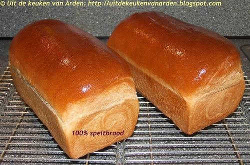 100 % speltbrood