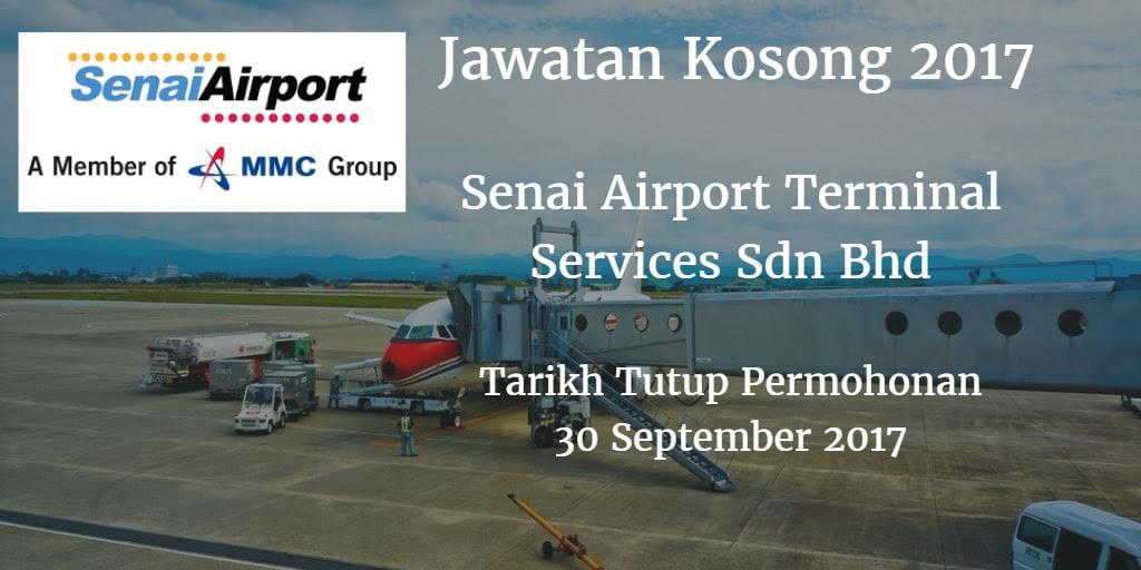 Jawatan Kosong Senai Airport Terminal Services Sdn Bhd 30 ...
