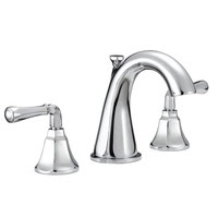 High Spout Bridge Style Sink Faucet Metal Cross Handles
