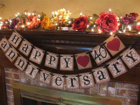 anniversary decorations ideas  pinterest