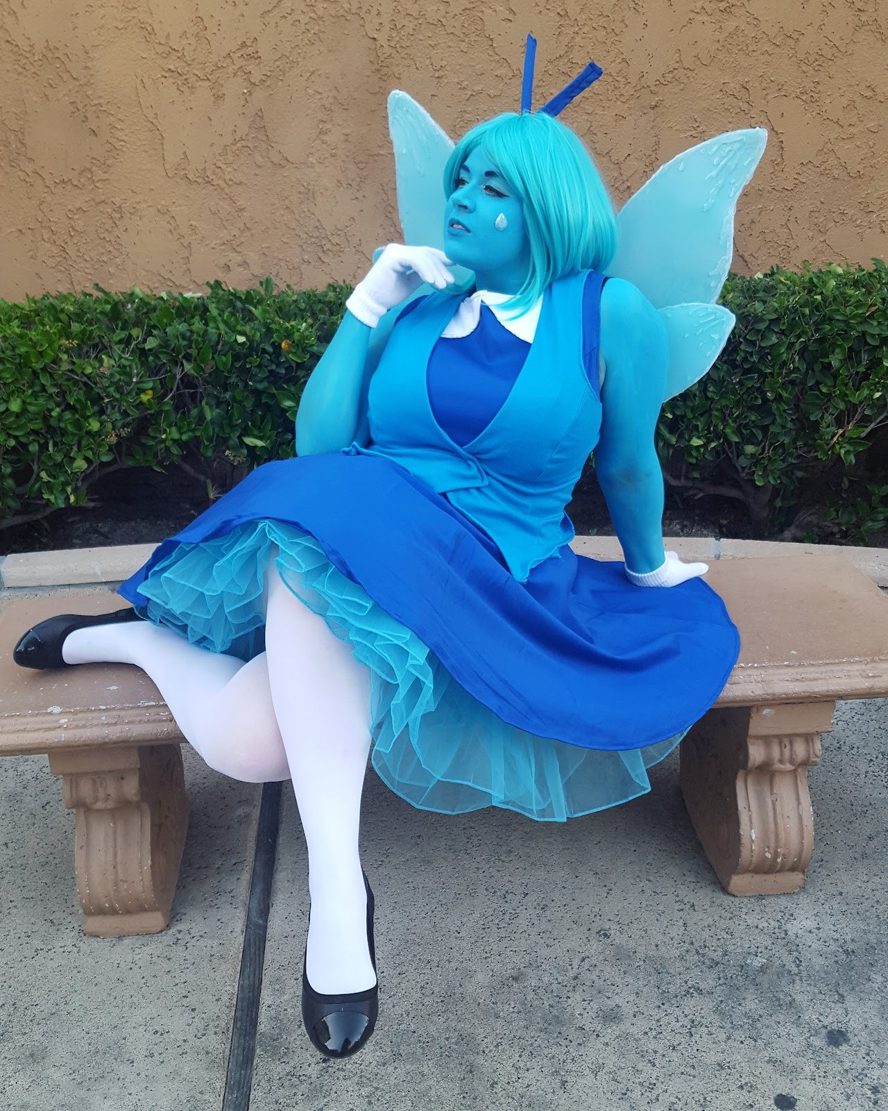 """But the Diamonds needed me. That's the burden of being the best!"" Aquamarine"