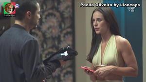 Paolla Oliveira sensual na novela Dona do Pedaço