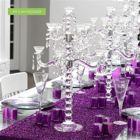 Glass Crystal Candelabra   Wholesale Candelabras   Table