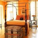 Top 10 Orange Bedroom Designs | Interior Exterior Ideas