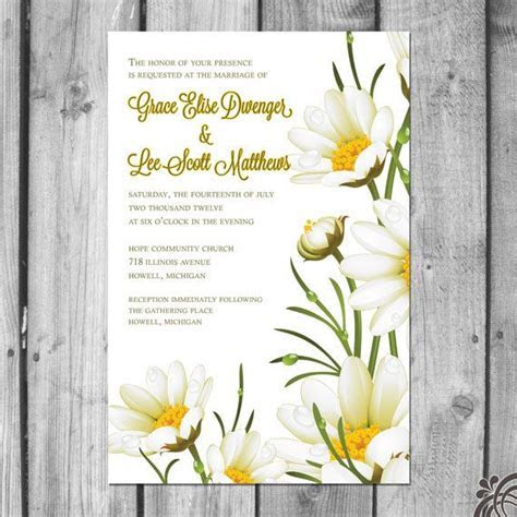 17 Best images about Daisy Wedding Theme Ideas on