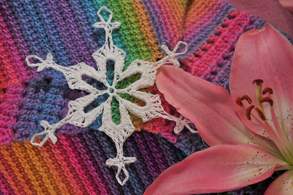 snowflake, lily and rainbows