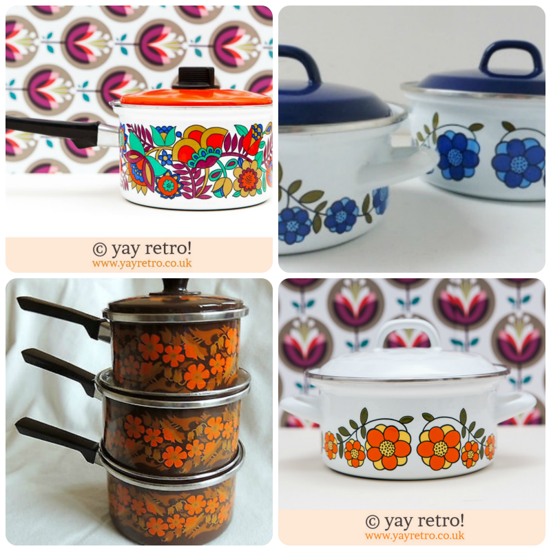 patterned saucepans