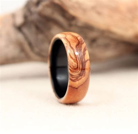 25  best ideas about Wood Rings on Pinterest   Diy rings