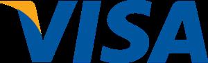 VISA logo, علامة شركة فيزا.
