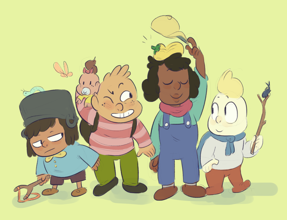 a whole pantry of friends!!