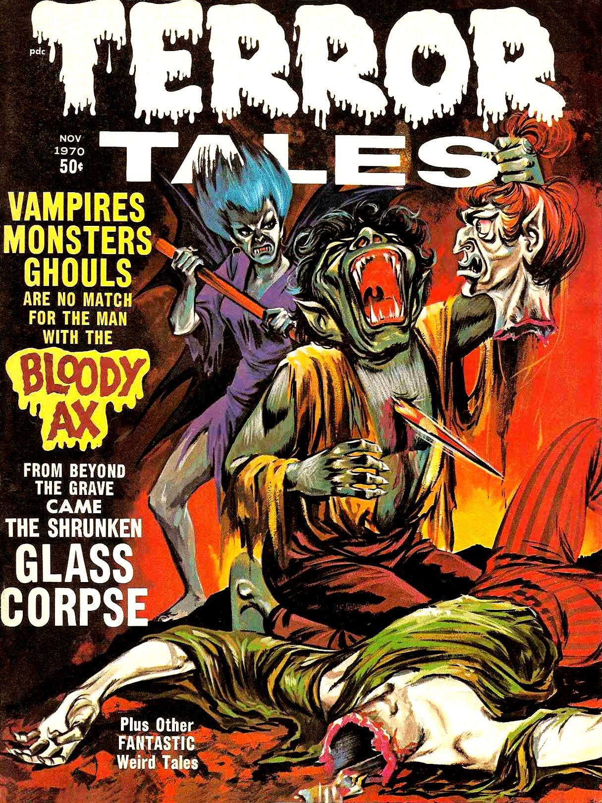 Terror Tales Vol. 02 #6 (Eerie Publications, 1970)