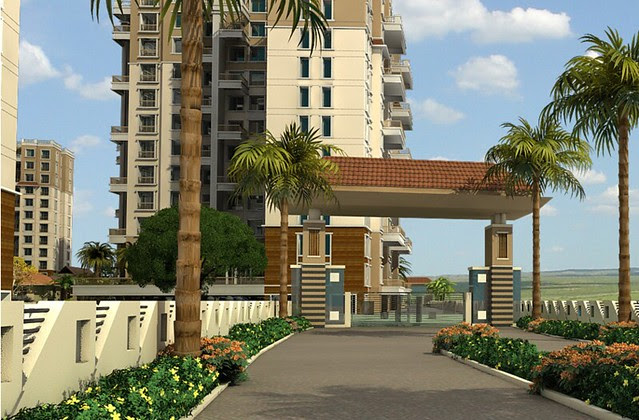 Om Developers' Tropica Blessed Township of 2 BHK & 3 BHK Flats in Ravet PCMC Pune 412 101 - 2