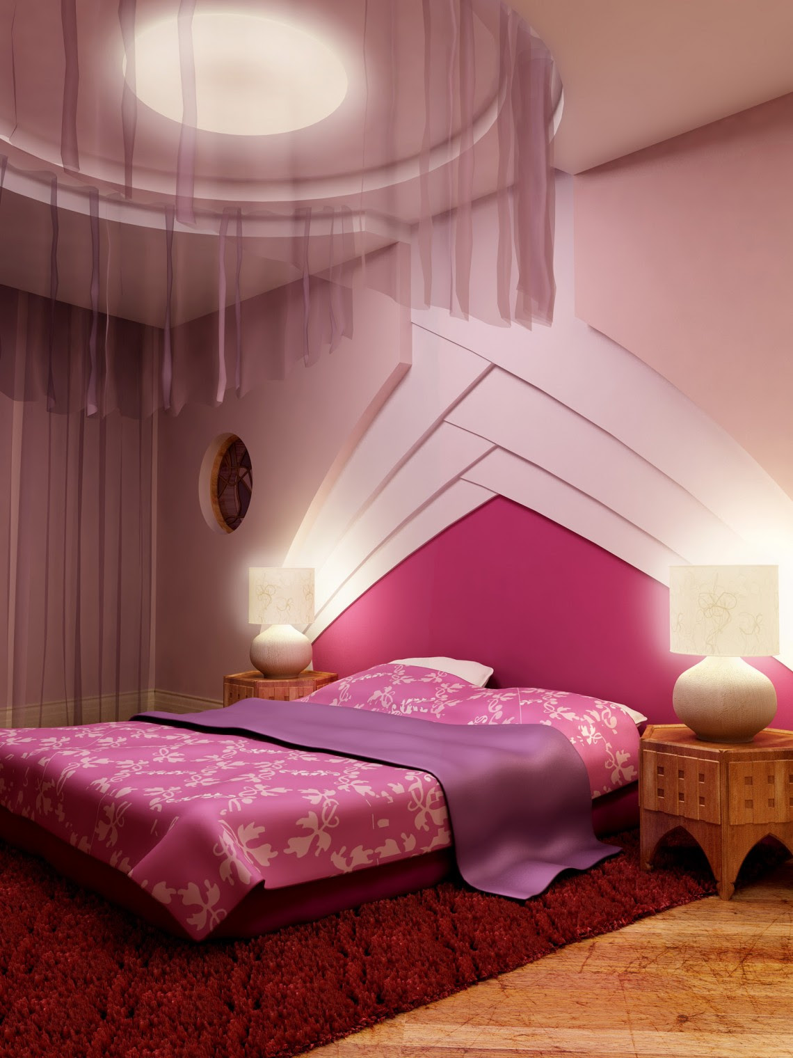 60 Classy And Marvelous Bedroom Wall Design Ideas