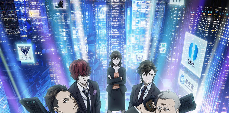 Psycho Pass Season 3 Visual