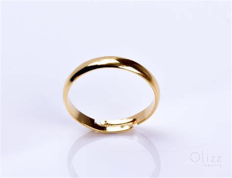Engagement Gold Ring / Gold Adjustable Ring   Pallas