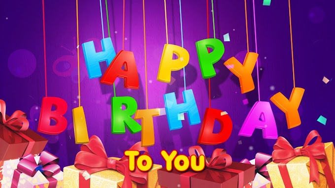 Happy Birthday song lyrics -2020