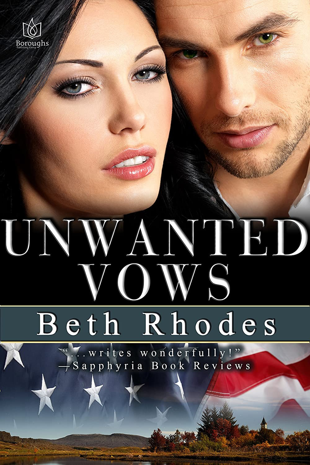 Cover image of Beth Rhodes new book, Unwanted Vows - Image source: http://ecx.images-amazon.com/images/I/91gJBIU1paL._SL1500_.jpg