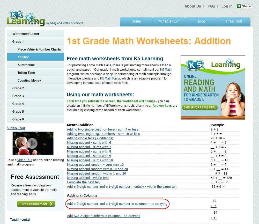 Printables. Homeschoolmath.net Worksheets. Lemonlilyfestival Worksheets Printables