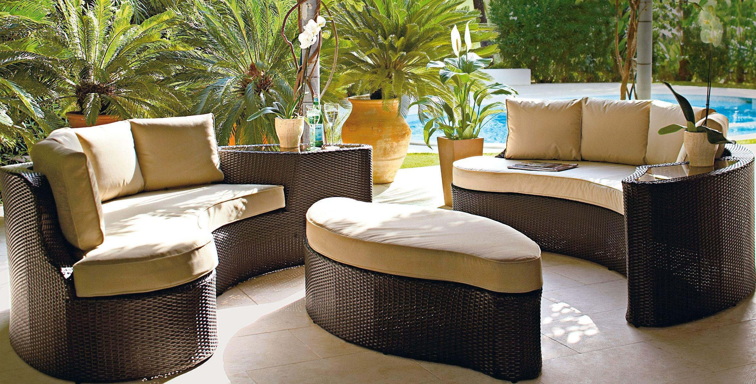 SALE on The Collection - Rattan Effect - 6 Seater Patio ...