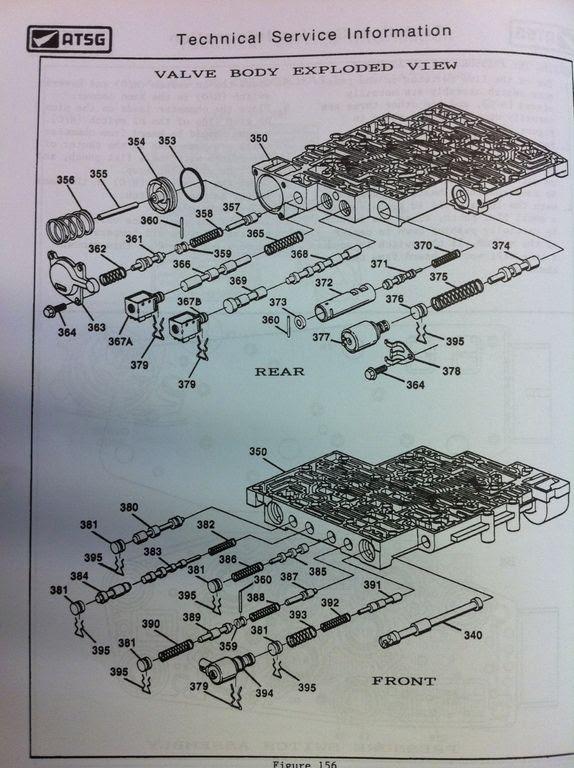 4 L 60 E Valve Body Diagram