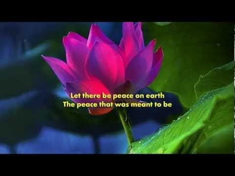 """Let There Be Peace On Earth Hymn """"Let There..."""