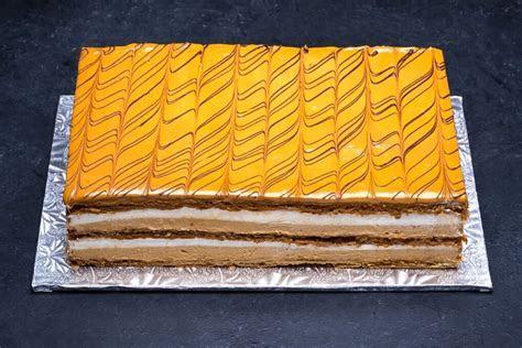 Napoleon Dulce de Leche Cake 1/2 Sheet   Porto's Bakery