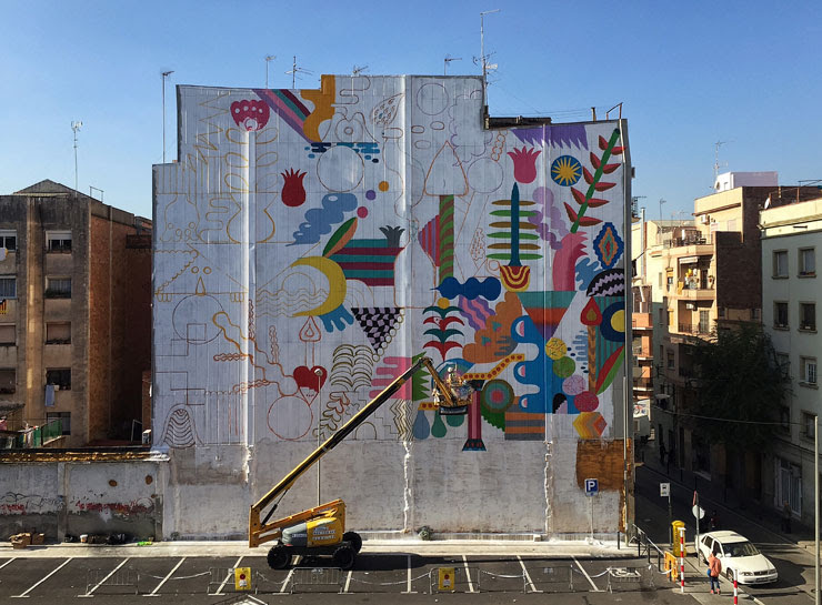 Barcelona Open Walls Mural Festival And Conference 2015 Brooklyn