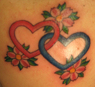 Interlocking Hearts By Jay Laviolette Tattoonow