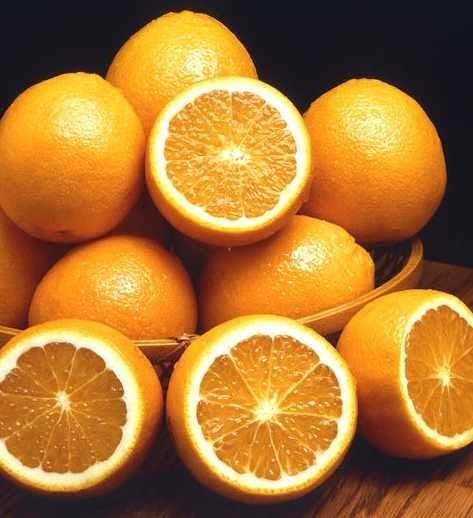 Маска от морщин с апельсином.