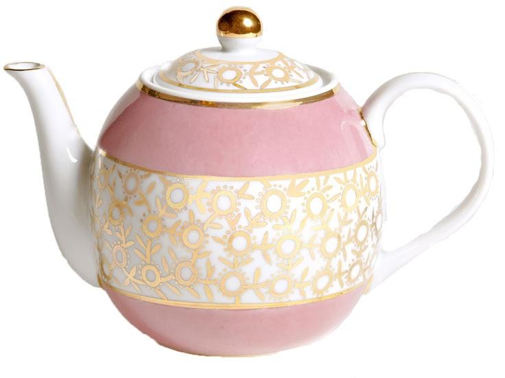 Fancy Teapot from Frette
