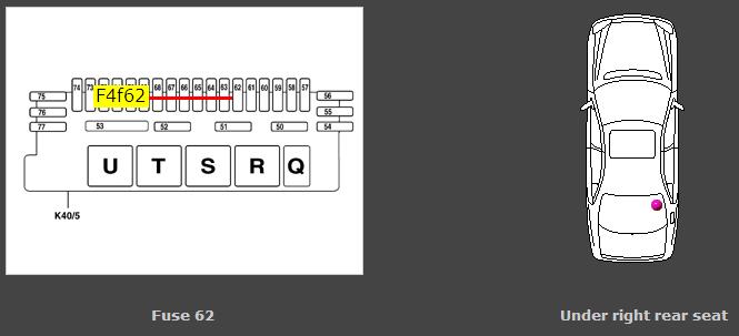 2001 Mercede Cl600 Fuse Diagram