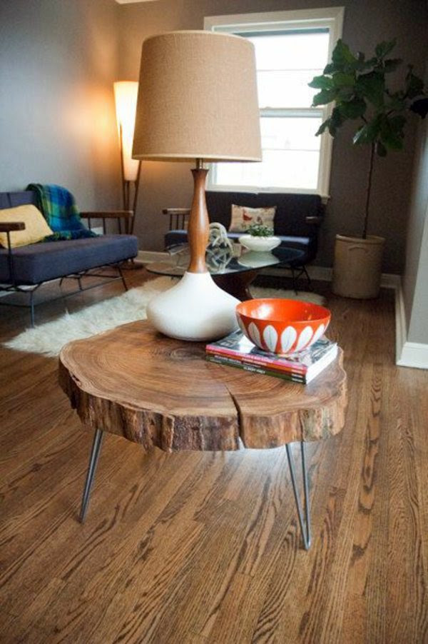 Round coffee table - the eye-catcher in your living room | Interior Design Ideas | AVSO.ORG