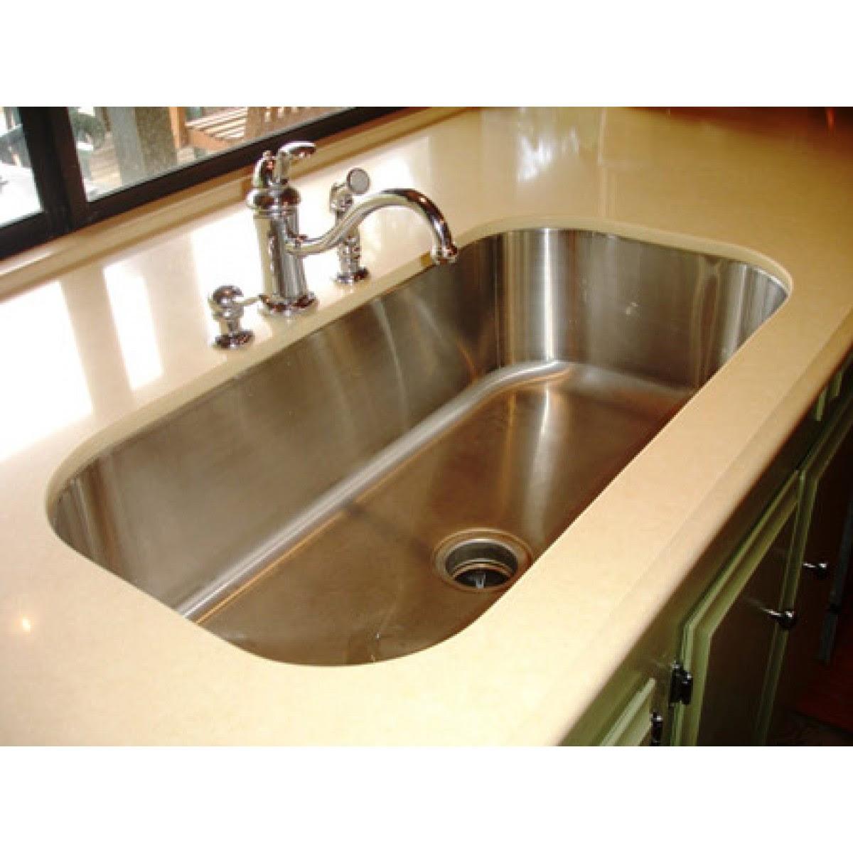 30 Inch Stainless Steel Undermount Single Bowl Kitchen ...
