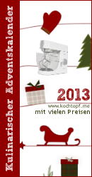 Kulinarischer Adventskalender 2013 mit vielen Preisen