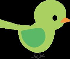 小鳥のイラスト挿絵無料イラスト