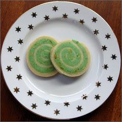 Pistachio Spiral Cookies