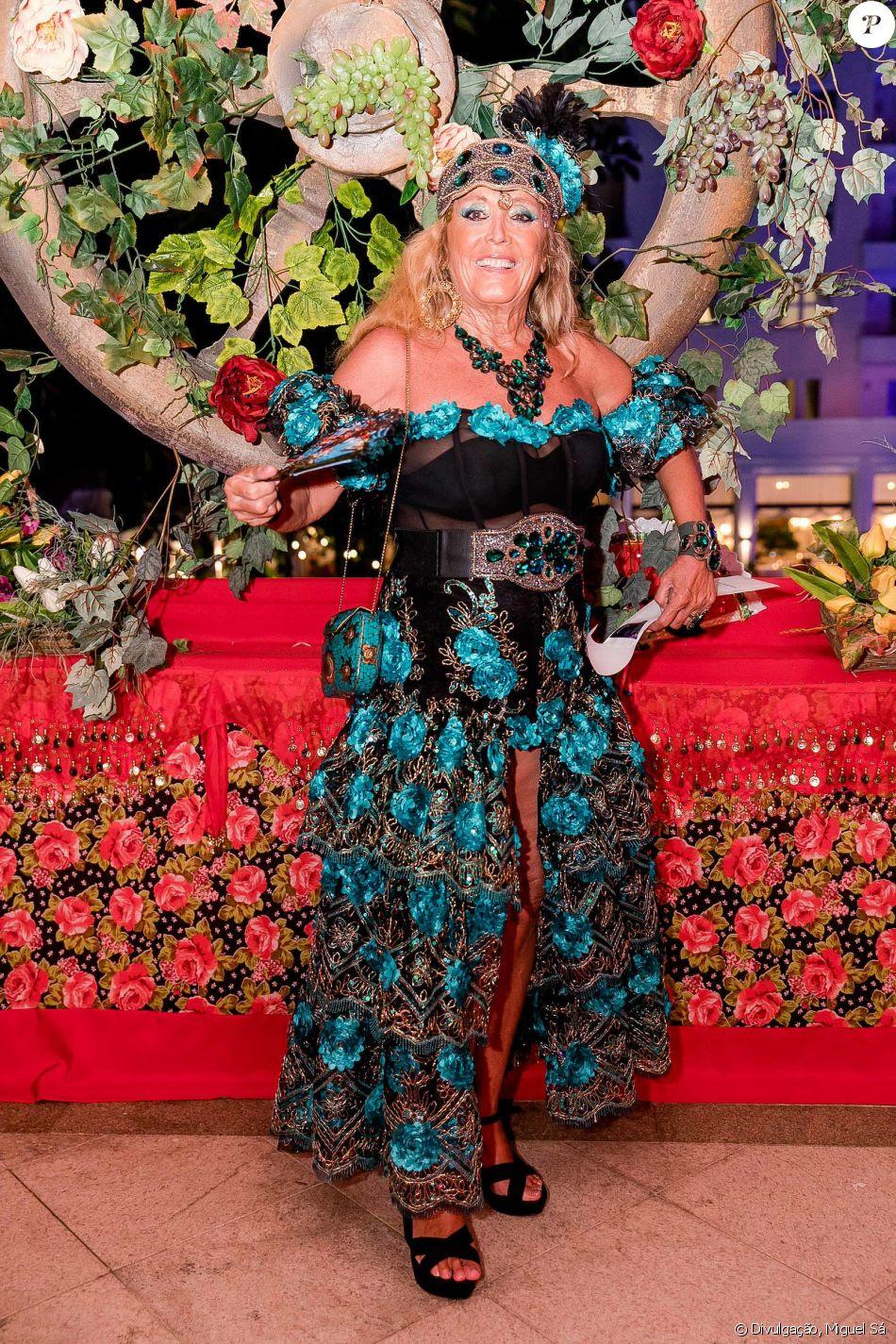 A condessa italiana Giovanna Deodato no Baile do Copa, realizado no hotel Belmond Copacabana Palace, na Zona Sul do Rio de Janeiro, neste sábado, 10 de fevereiro de 2018