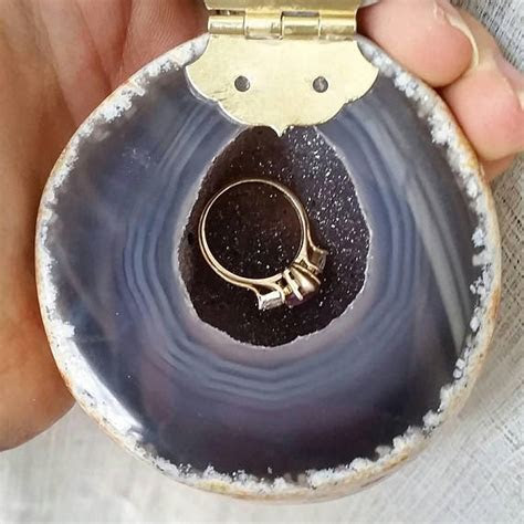 Geode Ring Box   portsidecle