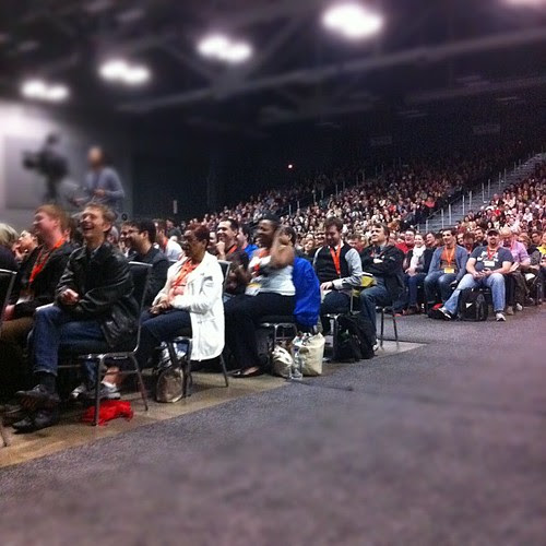 #keynotunde crowd