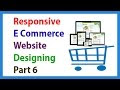 Responsive E Commerce Website Designing Part 6 Creating Offer Zone