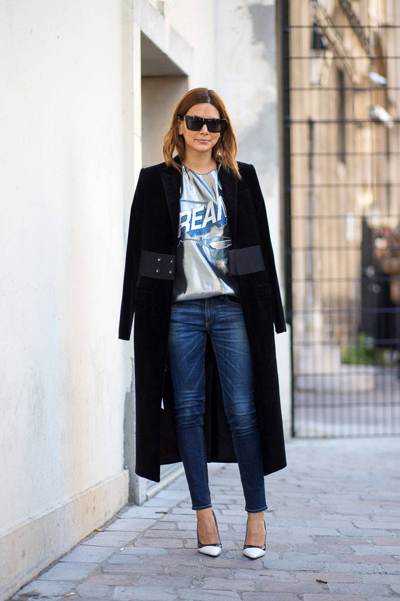 11 really good outfits from paris fashion week  because
