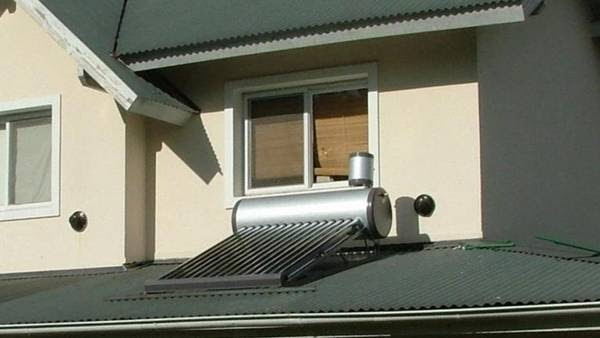 Termotanque solar, un alternativa para ahorrar energía.