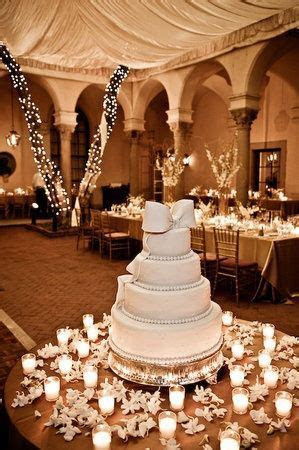 Photo via in 2019   Our Wedding Cake   Wedding cake table