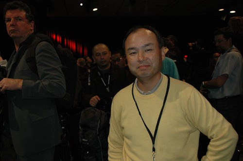 Masayoshi Son by dfarber.
