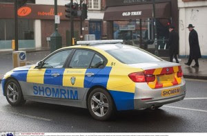 Jewish security cars in london