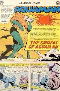 Adventure #256 Aquaman Splash Page